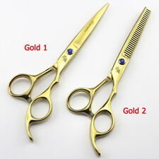 Hairdresser Scissors Hair Cutting Shears Hairdressing Kit Set Barber Salon Tools