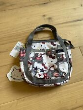 Hello Kitty LeSportsac Shoulder Bag SMALL JENNI Gray SANRIO NWT