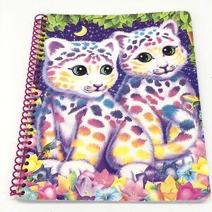 LISA FRANK 1 SUBJECT SPIRAL NOTEBOOK SASHA SHANTI RAINBOW LEOPARD CUB CATS