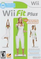 NEW Wii Fit Plus  (Wii, 2009) Game Only U.S. Version
