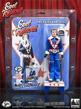 """FIGURES TOY COMPANY AMERICA'S DAREDEVIL EVEL KNIEVEL BLUE MEGO 8"""" ACTION FIGURE"""
