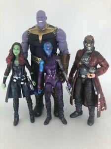 MARVEL LEGENDS MCU Guardians of the Galaxy Lot Thanos Gamora Nebula Starlord