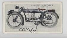 1923 Lambert & Butler Motor Cycles Tobacco Base #16 Douglas Non-Sports Card 0a6