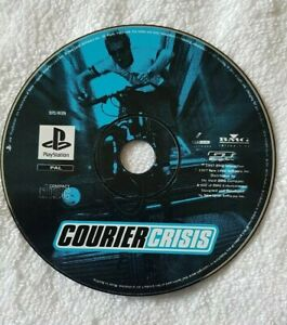 Courier Crisis Sony PlayStation PS1 Game Disc Only FAST POST