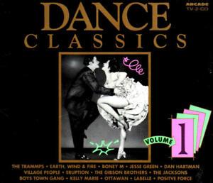 Dance Classics Vol. 1 (Dan Hartman/Eruption/Labelle) 2 CD-Set ARCADE 1991