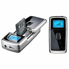 Universal Cargador de batería con USB Coche O Casa
