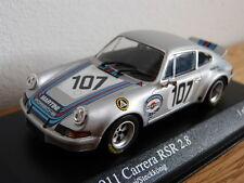 Porsche 911 Carrera RSR 2.8 Targa Florio 1973 Martini Minichamps Modellauto 1:43