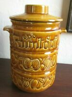 Vintage Rumtopf Lidded Rum Fermenting Pot Crock Jar 825-32 W. Germany