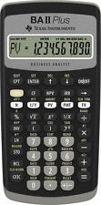 Texas Instruments BAII Plus Financial Calculator, Brand NEW Sealed FREE SHIPPING
