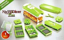 FRUIT CUTTER NICER DICER PLUS MULTI CHOPPER VEGETABLE AND SLICER GENIUS NDBSDS