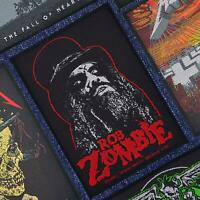 Rob Zombie Portrait Officially Licensed Woven Patch