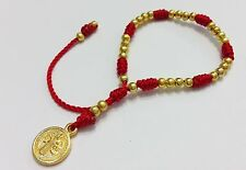 Bracelets for children with medal St. Benedict protection from the evil eye
