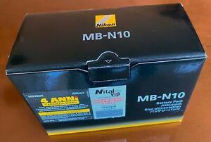 NIKON ORIGINALE BATERY PACK MB-N10 - PER Z7II Z6II Z7 Z6 Z5 -   ***COME NUOVO***
