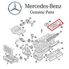 NEW Mercedes C215 CL600 W220 S600 V12 5.8L 2001 - 2002 Engine Oil Cooler Genuine