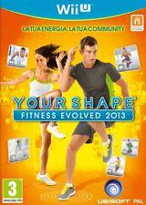 Wii U -- Your Shape - Fitness Evolved 2013 -- NUOVO