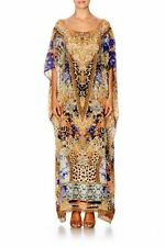 Full-Length Silk Blend Dresses Kaftan
