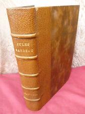 Jules Sandeau MARIANNA Edition Originale, rare reliure de Mallet