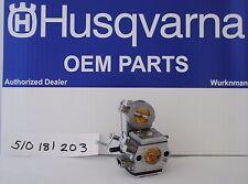 New listing Genuine Oem 510181203 Zama C3-El43 Carburetor for Husqvarna 510 H750 K760