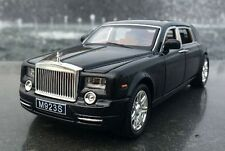 1:24 Rolls-Royce Phantom Diecast Metal Sound Light Model Car Vehicle Black