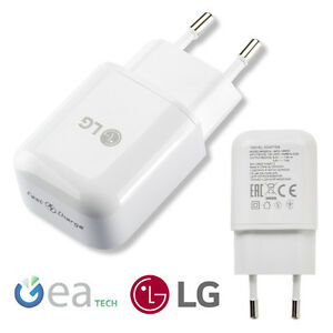 Original Battery Charger LG Travel Fast Charge Outlet Type-C + Cable Type-C Bulk
