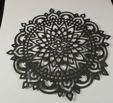 6 KAISERCRAFT MANDALA DIE CUTS.............BLACK