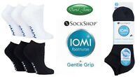 3 Pairs IOMI SockShop Diabetic TRAINER Socks Extra Wide Non-Binding Cushion Foot
