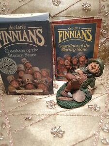 St Patricks day New Boxed Declans FINNIANS BLARNEY STONE LUCK of the IRISH Larry