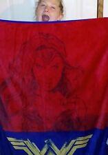 Comics New WONDER WOMANThrowSilky Soft & Cuddly blanket movie Gadot super hero
