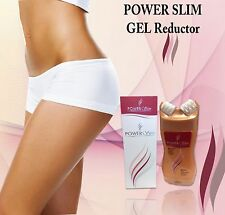 Power Slim Pro-Massage Cellulite lipo GEL reductor MASAGEADOR firming skin Fat
