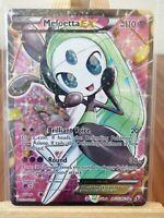 Meloetta Full Art Ultra Rare RC25/RC25  Legendary Treasures Pokemon Card