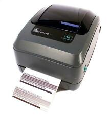 Zebra GX430t GX43-102521-000 Thermal Barcode Label Printer Parallel USB 300dpi