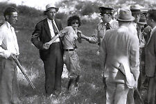 Photo of Capture of Blanche Barrow, Fringe member of Bonnie & Clyde Gang 1933