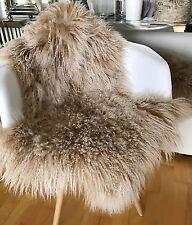 Fell Sitzauflage fell kunstfell teppiche in beige schaffell günstig kaufen ebay