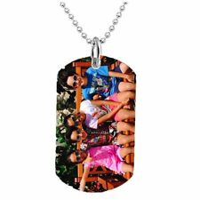 PERSONALIZED CUSTOM PHOTO DOG TAG COLOR JEWELRY NECKLACE PENDANT CHAIN GIFT