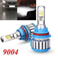 9004 9007 70W 8000LM Turbo Car LED Headlight Bulbs Kit White Hi/Low Beam 6000K