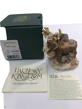 Harmony Kingdom Beer Nuts Moose Canadian Dealer Excl Uk Made Box Figurine Sgn