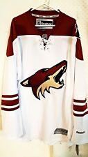 Reebok Premier NHL Jersey Coyotes Team White AZ sz 3X