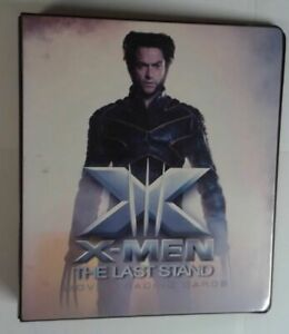 X-MEN THE LAST STAND TRADING CARD ALBUM USED READ