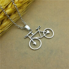 HOT Fashionable Glamour Jewelry Bicycle Collarbone Pendant Necklace