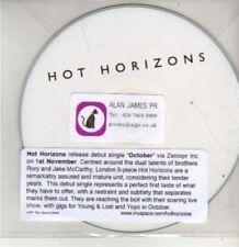 (BT580) Hot Horizons, October - DJ CD