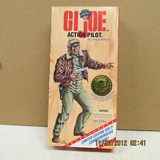 "1996  GI Joe African Action Pilot 12""  Figurine 50th Annivrsary Limited Edition"
