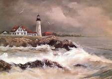 Portland Head Light, Maine - Artistic greeting cards by Jean McLean