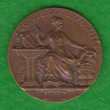 """BRONZE FRENCH MEDAL """"COMITE DES EXPERTISES 1822"""". M28"""