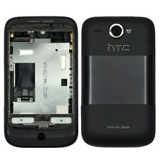 Original replacement rear housing for HTC Wildfire (Black)