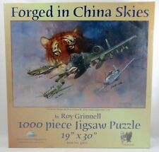 """FORGED IN CHINA SKIES by Roy Grinnell 1000 pc. Jigsaw Puzzle """"NEW SEALED*"""