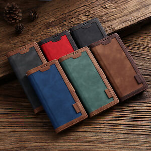 Magnetic Leather Flip Wallet Stand Case Cover for iPhone 12 11 Xs Max 7 Plus XR