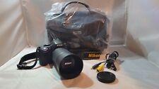 Nikon D5100 16.2 MP CMOS DSLR Camera Bundle with 55-20mm Lens & NEW Bag