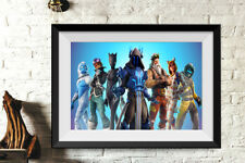Game Fornite Poster Printed on Photographic Paper  Kids Room Home Art Decor 52