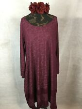 JAQUARD DRESS  HIPPY BOHEMIAN, QUIRKY, LAGENLOOK. PLUS SIZES RRP95