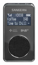 Sangean DPR-35 DAB+/FM Pocket Radio - Black